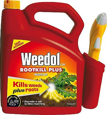 Weedol Rootkill Plus Weedkiller (Ready to Use), 5 L