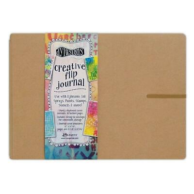 Dylusions Creative Art Journal - Flip Large Landscape Book - Mixed Media Paper