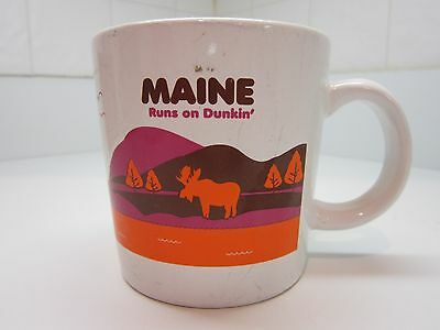 DUNKIN' DONUTS Destinations Collection State of MAINE COFFEE MUG Ltd. Ed. 2013