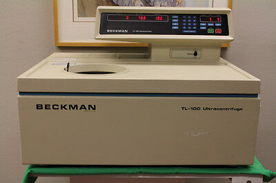 Beckman TL-100 Laboratory Tabletop Refrigerated Ultracentrifuge - WORKS WELL