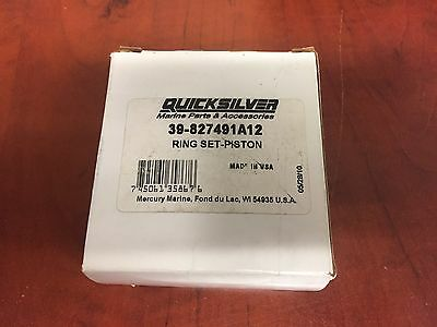 New Mercury Ring Set Part Number 39-827467A12 Pk Of 12