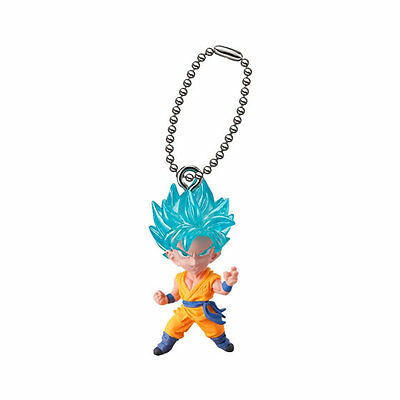 Dragon Ball Z Super Mascot PVC Keychain SD Figure ~ Super Saiyan God Goku @11471