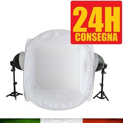 LIGHT BOX STUDIO FOTOGRAFICO FOTOGRAFIA SOFTBOX DSLR CAMERA Cube 60x60x60