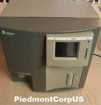 Beckman Coulter AcT diff 2 Hematology Analyzer EXCELLENT COSMETIC CONDITION