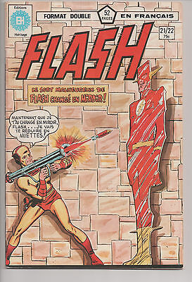 FLASH #21/22 french comic français EDITIONS HERITAGE