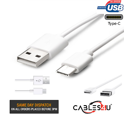 Samsung Galaxy A5 (2017) USB Type C USB-C Sync Charger Charging Power Cable Lead