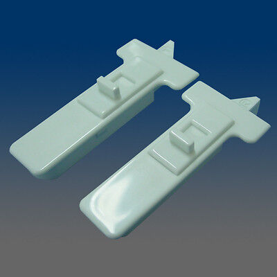 One pair of WHITE Window Sash Tilt Latches  2878WHITE