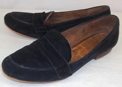 2be59d432c240 Sam Edelman Womens Shoes ETIENE US 6.5M Black Suede Penny Loafers Slip-On  Casual