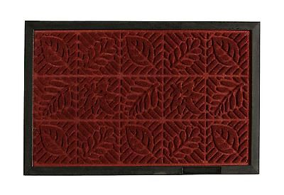 Rubber Backed Engraved Entrance Doormat for Front Indoor/Outdoor Clean Decor