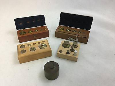 Assorted Weights for A Balance Scale