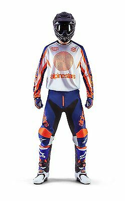 Set Cross Alpinestars Racer Indianapolis Jersey XL + Trousers 34 Mx Gear