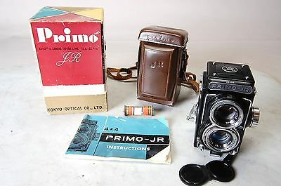 Tokyo-Optical-PRIMO-JR-TLR-camera-w-case, manual,original box