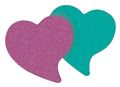 Post-it Super Sticky Notes 3 in x 3 in Heart Shape Assorted Colors 75 Sheets/...