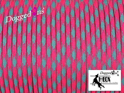 Paracord 550 Type III, 5 Meter ,Cord, Farbe cotton candy