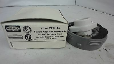 Hubbell Vfb-15 Fixture Cap With Receptacle For 150 Watt Lamp