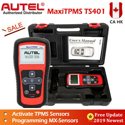 Autel TS401 TPMS Diagnostic Service Tool Activator Decode Program Sensor Update