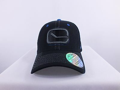 Vancouver Canucks Nhl Small, Xl Flex/fit Cap Hat By Zephyr (H-128)