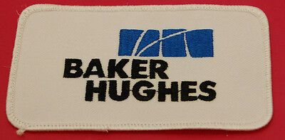 Baker Hughes Oilfield Uniform Jacket Shirt Sew-On Patch