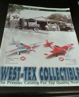 1996 TEXACO collectable Guide catalog automobile plane models and more