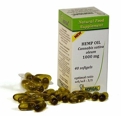 1000mg HEMP OIL CANNABIS SATIVA OLEUM PURE NATURAL COLD PRESSED OIL SOFTGEL CAPS