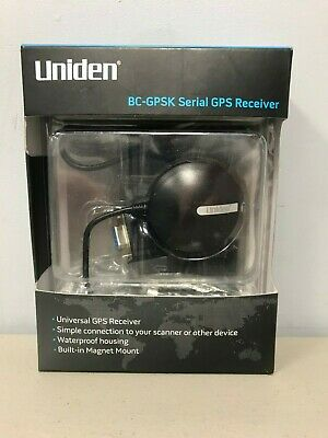 Uniden BC-GPSK Serial GPS Receiver connect GPS to Uniden location-base scanner
