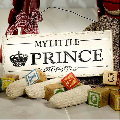 My Little Prince Wood Plaque Nursery Decorative Plaque Nursery Wall Sign