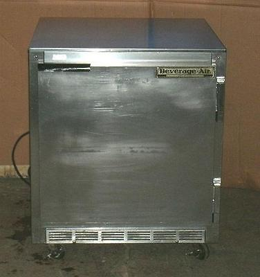 BEVERAGE AIR UCR-27A Bar Beer Cooler Refrigerator SS Undercounter