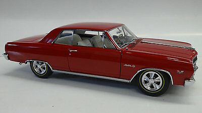 Exact Detail 1:18 1965 Chevrolet Chevelle Z16 in Red by LANE