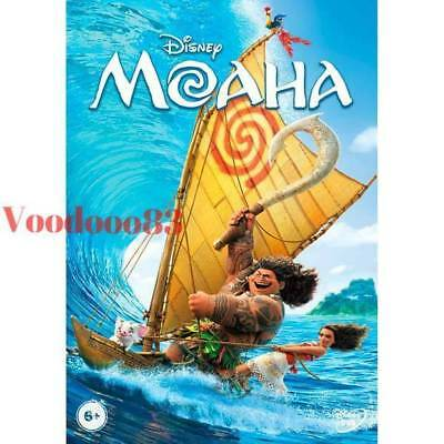 *NEW* Moana (DVD, 2017, Region 5, PAL) Russian, English, Kazakh
