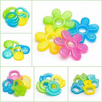 Baby Gel Filled Teether Toddler Infant Perfect Teething Toy BPA Free 3m+