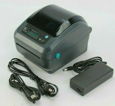 Zebra ZP450 Direct Thermal Shipping Label Printer Barcode USB  FREE SHIPPING