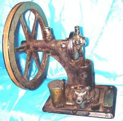 Antique Dental Treadle Operated Drill Arm Steampunk Steam Device