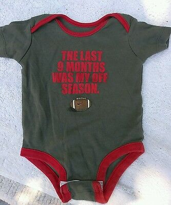 Infant baby boys clothing 0-3 months one-piece outfit NIKE