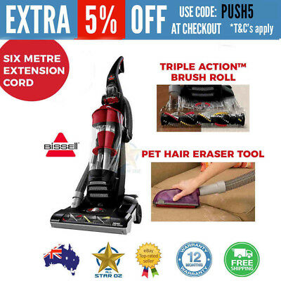 Pet Hair Vacuum Cleaner Bagless Multi-cyclonic Bissell Powerlifter Dog Cat
