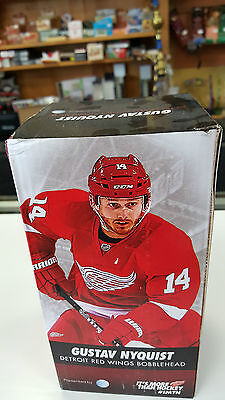 GUSTAV NYQUIST as DETROIT RED WINGS BOBBLEHEAD