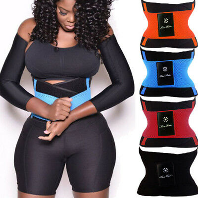 ed060bcac Xtreme Hot Power Slimming Body Shaper Waist Trainer Trimmer Sport Gym Yoga  Belt