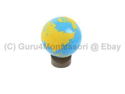 CLEARANCE NEW Montessori Geography - GLOBE of Land & Water(Sandpaper Globe)