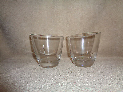Set of     2     COURVOISIER COGNAC      Sippin' Glasses