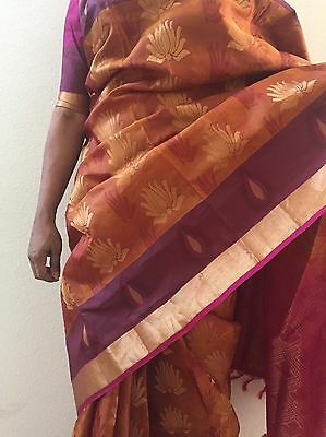 Art Silk Saree Party Wear Indian Designer-With Stitched Blouse-