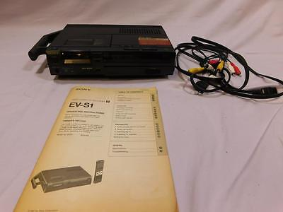 Sony Portable EV-S1 8mm Digital Stereo PCM Editing VCR