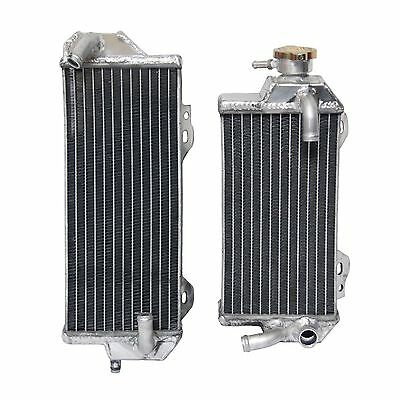 L&R Full Aluminum Racing Radiator For Suzuki RMZ 250 RMZ250 2010 2011 2012
