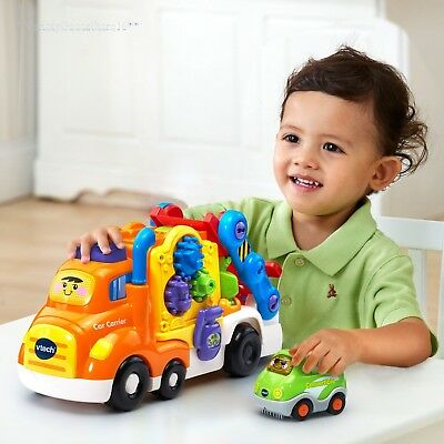 Baby Activity Toy Toddler Kids Vtech Deluxe Car Carrier Pretend Play Learning