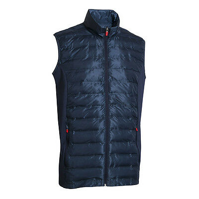 Backtee Men's Lightpadded Short Sleeve Golf Vest