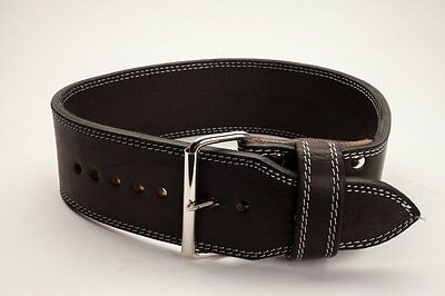 Powerlifting Polished Leather 13mm 1 Prong Belt - IPF Approved