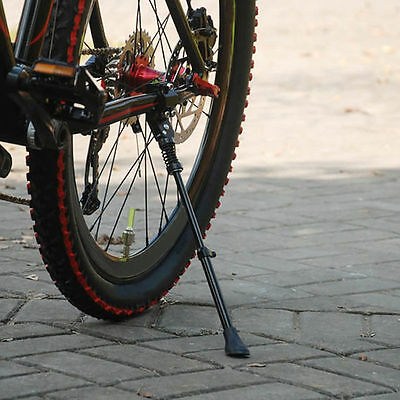 NEW Bicycle MTB Road Bike Adjustable Side Kickstand Prop Kick Stand Rubber Foot
