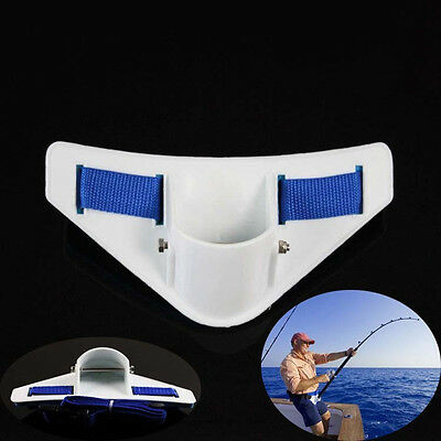 Sea Fishing Adjustable Jigging Fighting Belt Rod Holder Belt Waist Rod Holder