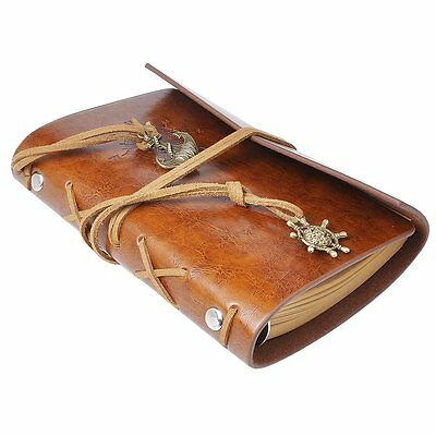 Vintage Leather Booklet Notebook Journal Diary BOOK