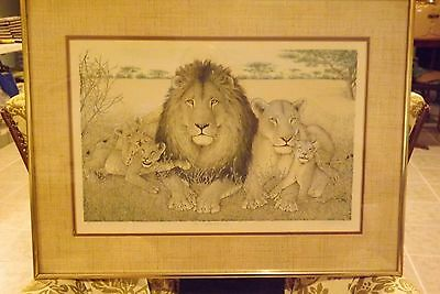 """The Royal Family"" S. Sona Signed Artist Proof Limited Edition Lithograph"