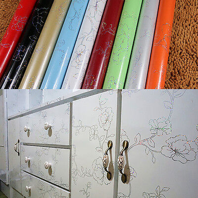yazi Cupboard Door Cover Contact Paper Furniture Vinyl Self Adhesive Film Sticky