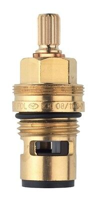 Grohe 45346000 1/2 Inch Carbodur Half Turn Flow On/Off Cartridge for Hot Bar